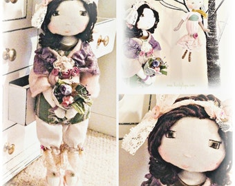 Handmade doll by Verity Hope