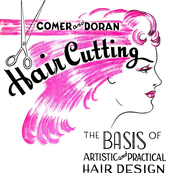 Shop 1950s Hair Accessories 1950s E-Book- Hair Cutting- The Basis of Artistic & Practical Hair Design- 1955 $4.99 AT vintagedancer.com