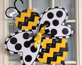 Bumble bee  Door Hanger Orginal by Shirleys Treasures