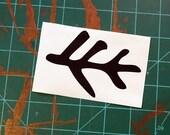 """Elder Sign Twig sticker 4"""""""