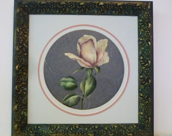 Hand Painted Rose
