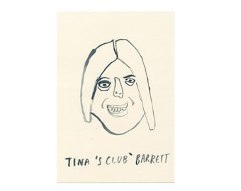 Original Portrait || TINA 'S CLUB' BARRETT || 100failedfamousfaces
