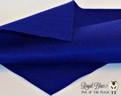 Royal Blue Felt, Craft Felt Sheets, Royal Blue Felt Sheets, Blue Felt Sheets, Blue Craft Felt, Royal Blue Craft Felt, Felt Craft Supplies