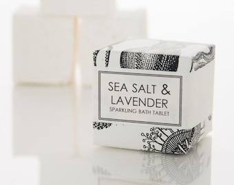 Sea Salt & Lavender Bath Fizzy - Sparkling Bath Bomb