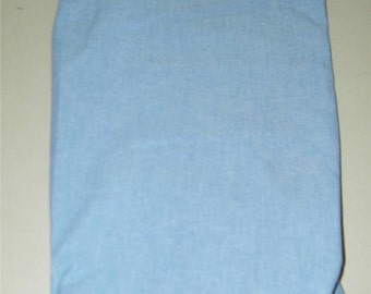 Light Blue Cotton Chambray 3/4 Yards 62 Inch Wide 11388 Oxford Cloth Shirting