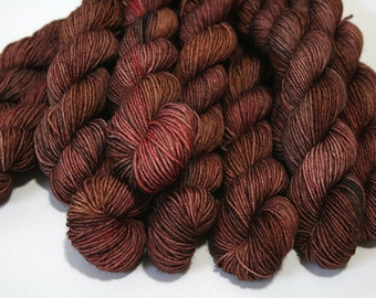 hand dyed yarn - 20g Quick Step Sock MINIS - Fine Looking High Horse colorway (dyelot 71216)