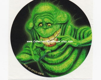 Slimer  Ghostbusters Promotional Sticker from Krispy Kreme Doughnuts Ghost 30th Anniversary