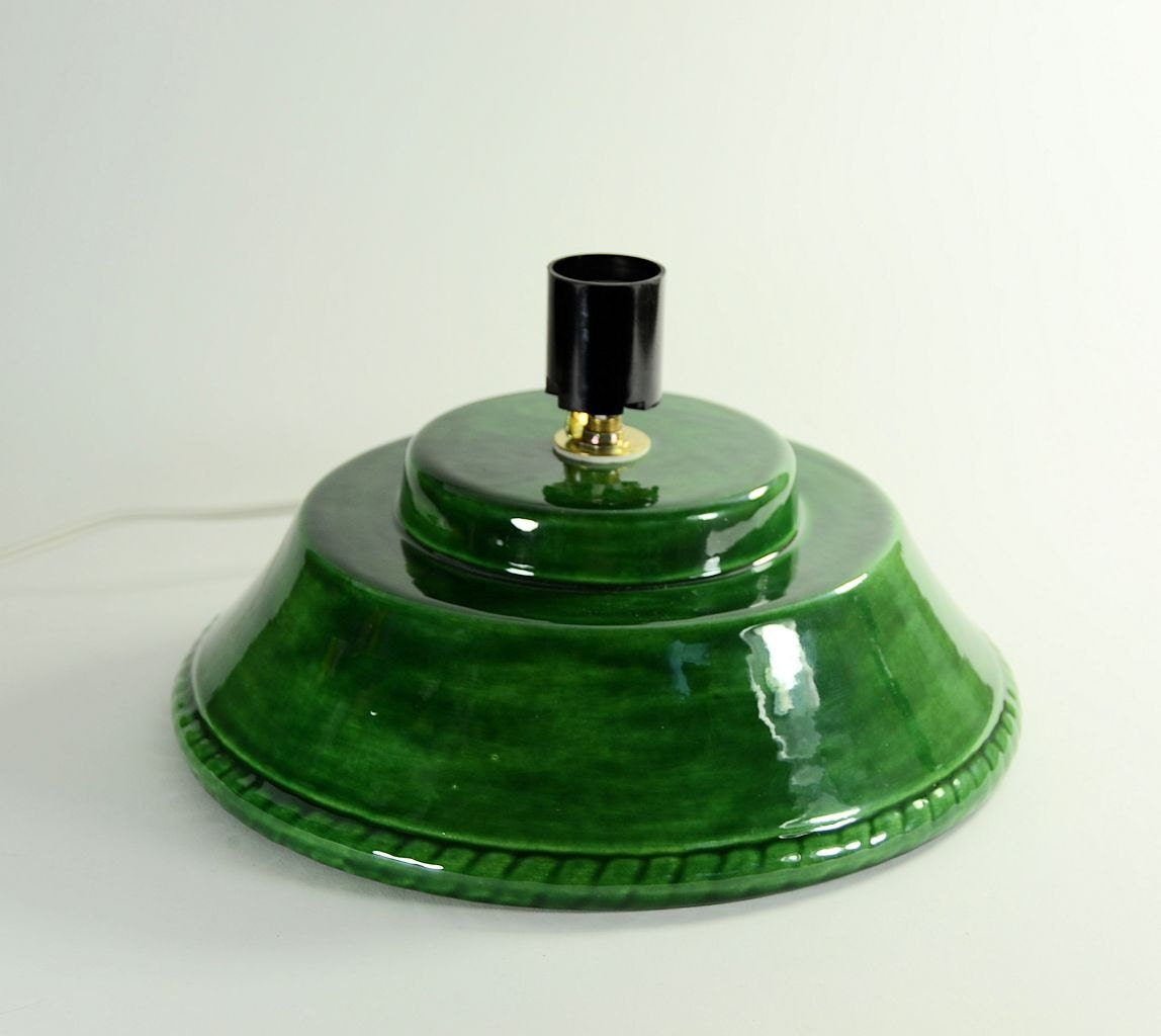 Replacement Ceramic Christmas Tree Base Alberta Green made to