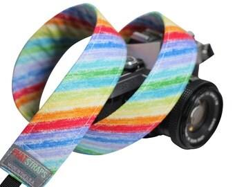 Camera Strap - DSLR Rainbow Strap - Osaka