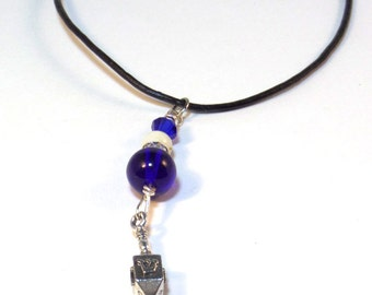 Hanukkah necklace - Dreidel Necklace