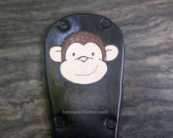 MONKEY Leather Slapper Paddle (PSC101)