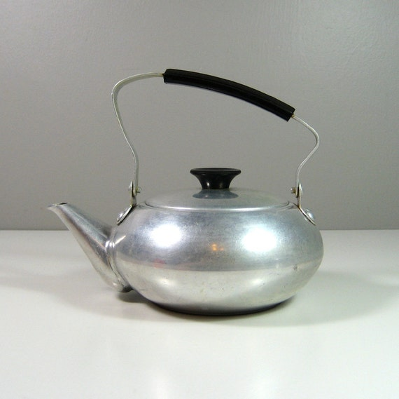Aluminum teapot with strainer made in japan grease canister - Japanese teapot with strainer ...