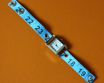 Tape Measure Watch - Square Face