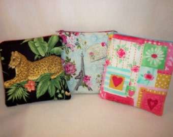 reusable eco friendly sandwich bags SALE 16% off match lunch box back pack tote etc. hundreds of fabric choices