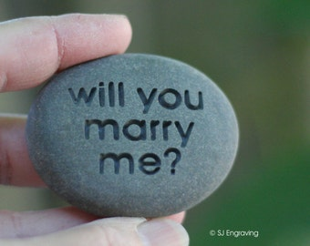 Proposal gift for him or for for her - Will you marry me - Ready to ship
