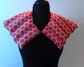 Heating Pad Neck Shoulder /Hot or Cold Therapy Wrap/  Scented or Unscented/ Orange Aqua Gems