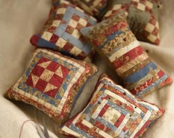 SALE Tuffets Pincushion PATTERN Miss Rosie's - Schnibbles
