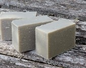 French Green Clay Facial Soap for Combination/Oily Skin