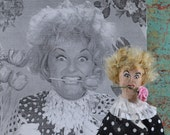 Phyllis Diller Doll Miniature Fan Art Comedy Character Funny Lady