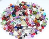Bead Mix, Destash Beads, 6oz of Mixed Beads, Glass Beads, Arts and Craft Supplies, Bead Soup, Beginner Bead Mix, Jewelry Findings, Supplies