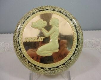 Vintage Dutch Tjoklat Camee Pastilles Candy Tin