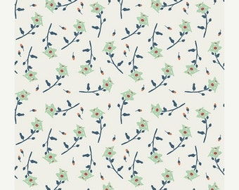 30% OFF Reminisce Freshly Picked Mint - 1/2 Yard