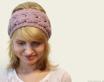 CROCHET PATTERN - Cabled Crochet Headband - Instant Download (PDF)