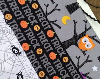 Halloween zipper bag Halloween pouch zippered pouch small zipper pouch makeup bag craft pouch sewing accessory small project bag notions bag
