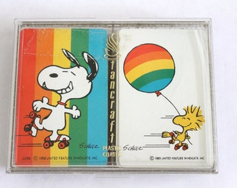 Rare Peanuts Snoopy Playing Cards