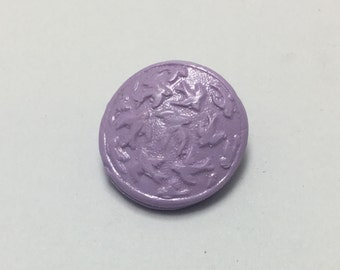 Flock of Sparrows - Lavender - Hand Made Clay Button