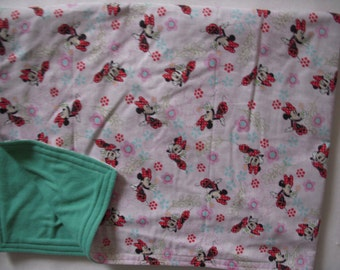 Minnie Mouse Baby/Toddler  Blanket