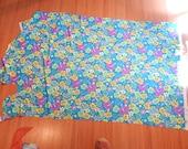 SAVED for SAM Lycra Swim fabric, Hawaiian print