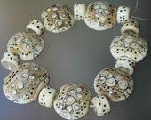 Morse Wood - Handmade Lampwork Beads Set (SRA)