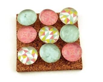 Decorative Glass Push Pins  Thumb Tacks Cork Board Pins in Prism (P112)
