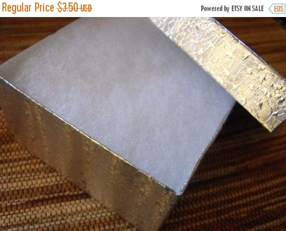 Summer Stock Up Sale CLEARANCE 10 Pack Silver Foil Swirl Color 3.5X3.5X2 Deep Cotton Filled Jewelry Retail Gift Boxes