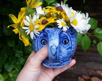 Blue Owl Mug