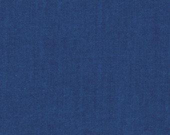 Kaffe Fassett SC45 Shot Cotton True Cobalt Fabric By The Yard