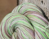 Handpainted Twist Sock Yarn - 80/20% Superwash Blue Faced Leicester Wool / Nylon - Monet