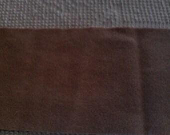 Plant Dyed  Felted Wool  Light Brown    Black Walnut Husks