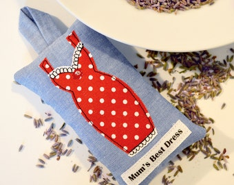 Best Dress Lavender Sachet - Red