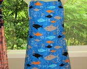 womens aprons - mens aprons - full aprons - shark attack