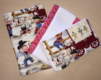 flannel swaddling blanket_flannel blankets_wagon train
