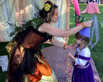 WINGING CEREMONY Birthday Party Visit Celebration, Favors, Bloomday, Kids