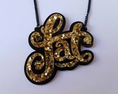 PRE-ORDER Gold Fat Necklace
