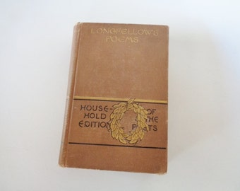 Longfellow's Poems  Published by Houghton Mifflin Boston 1884