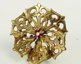 Vintage Gold Filled Victorian Scatter Pin