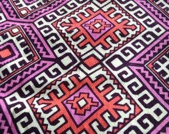 Bohemian Baby Chenille Blanket