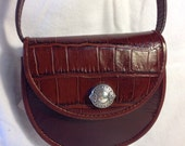 Brighton Wallet Pouch Purse, Brown Leather, Detachable Strap, NWT