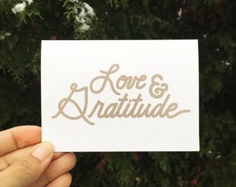 Love & Gratitude Card