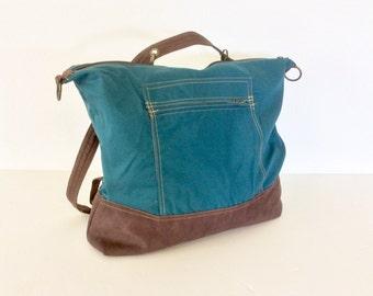 Convertible Travel Bag, Interchangeable Travel Bag, Travel Handbag, Travel Backpack, Travel Shoulder Bag, Travel Cross-body
